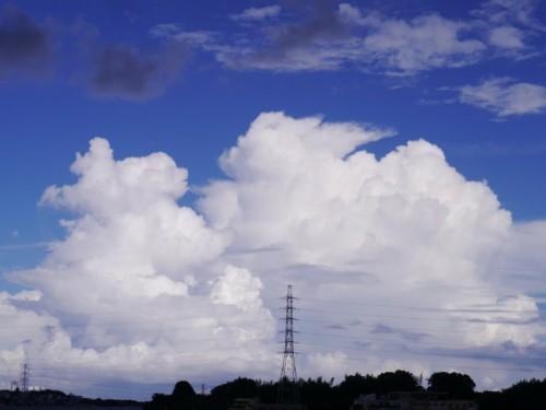 雄大積雲を量産予定