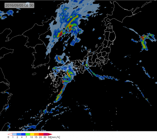 20160904_5日8時雨域予測