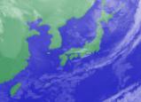 1月28日3時気象衛星雲画像
