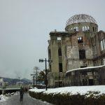 広島19cm 33年ぶり大雪