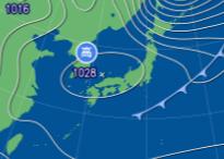 1月28日9時予想天気図