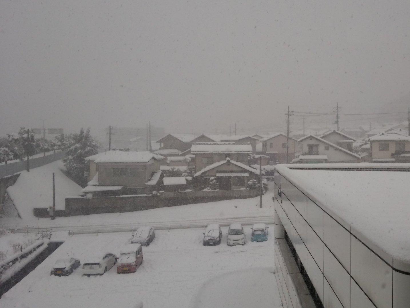 鳥取で30年ぶりの記録的豪雪