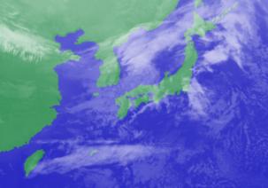 2月17日3時のひまわり雲画像