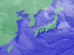 2月11日3時のひまわり雲画像