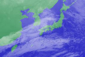 2月5日3時気象衛星雲画像