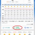 【ご連絡】気圧配置図で10日先まで確認できるようになりました