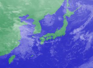 3月5日3時のひまわり雲画像