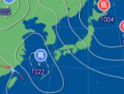 3月10日9時の予想天気図