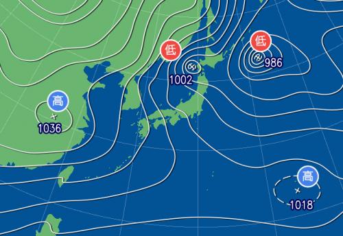本州 最高 気温 昨日