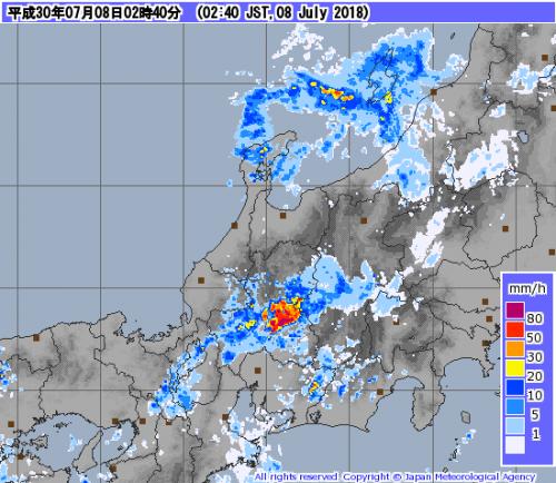 レーダー 岐阜 雨雲
