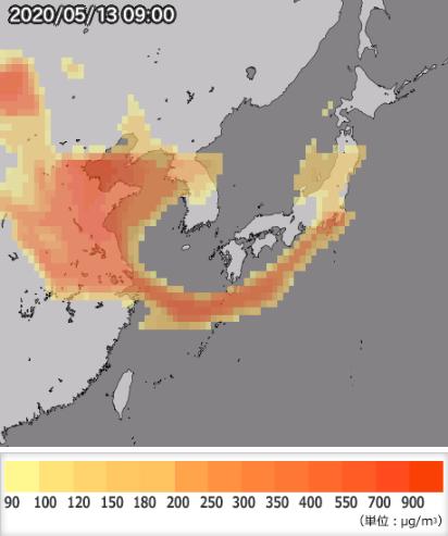 2020 黄砂 情報 気象庁 徳島地方気象台